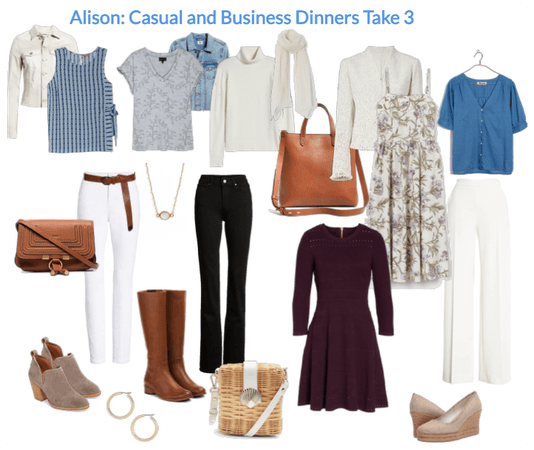 Alison: Casual and Business Dinners Take 3