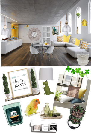 earthy tone modern home 🏠