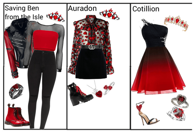 Harley Hearts Outfits