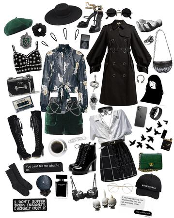 hogwarts fashion: slytherin