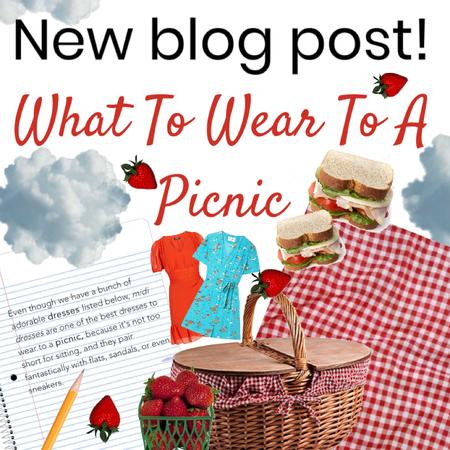 new blog post. picnic dresses .