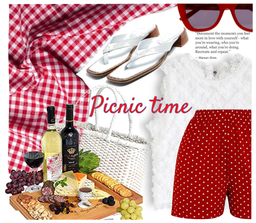 red is for picnic