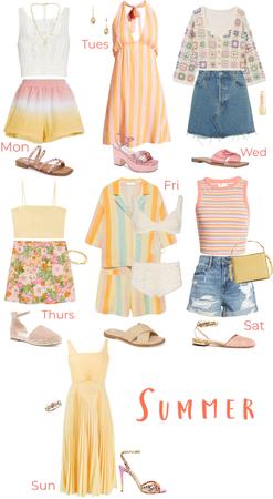 Week of Summer Fits