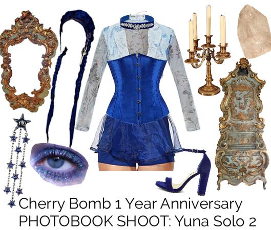Cherry Bomb 1 Year Anniversary PHOTOBOOK SHOOT: Yuna Solo 2