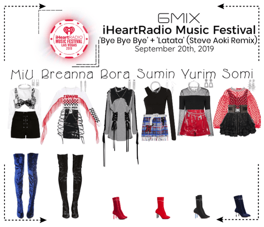 《6mix》iHeartRadio Music Festival Performance