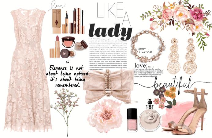 Fiona: like a lady