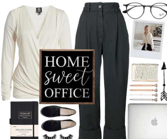 Home sweet office outfit