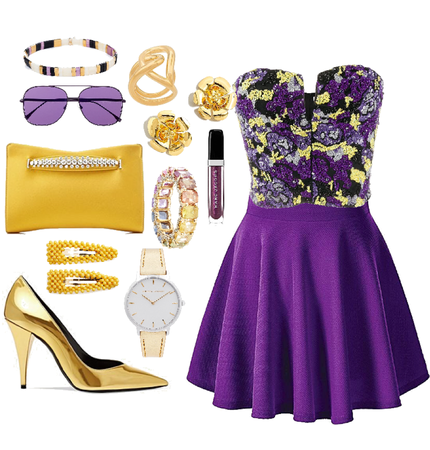 Yellow Purple Complementary