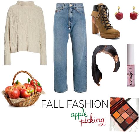 Fall Fashion *apple picking *🍎🍏