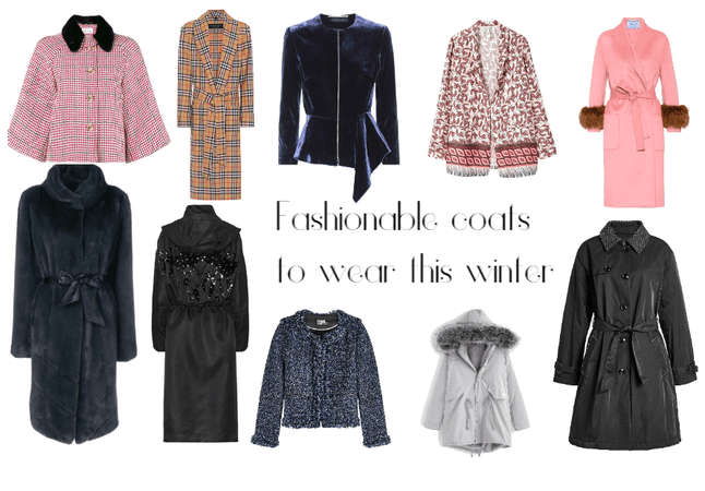 Fashionable coats to wear this fall