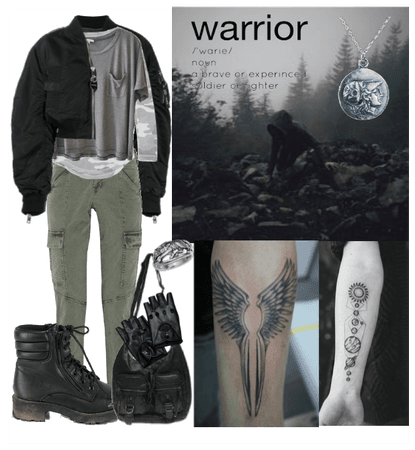 Ryder Outfit/The 100 OC