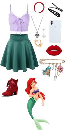 Ariel Disney bounding