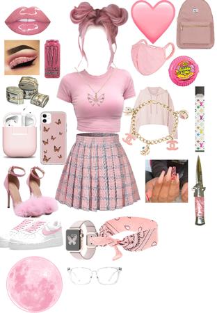 pink check lol