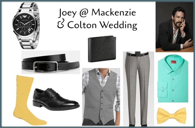 Joey @ Mackenzie & Colton's Wedding