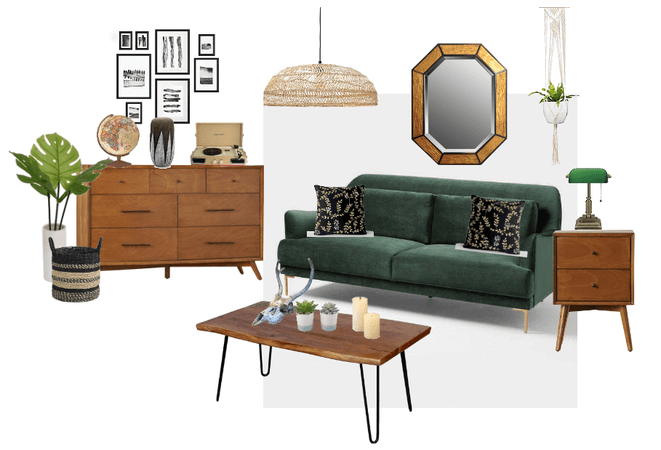 Botanical Eclectic Living