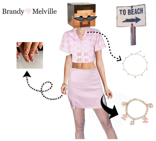 Brandy Pink outfit
