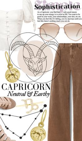 Capricorn: Simple Sophistication