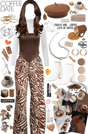 Coffee date pt2☕️🤎