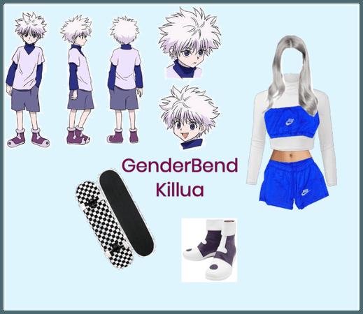 GenderBend Killua from HXH