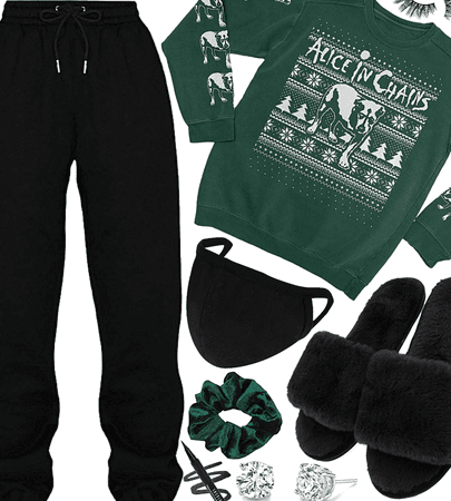 WINTER 2020: Alice In Chains Holiday Sweatshirt Style