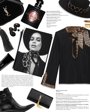 Always Black: Inspired by Zoë Kravitz for YSL