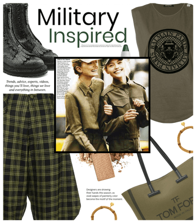 Military Inspired Look
