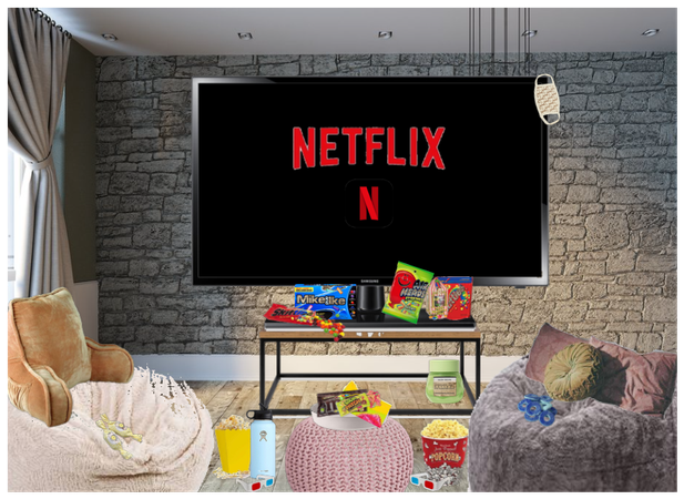 at home netflix night!!