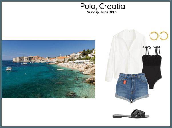 Pula, Croatia Day 1