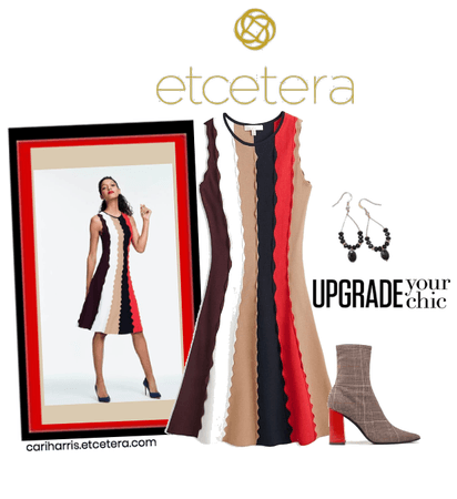 ETC Fall 2020: Colorblock Dress