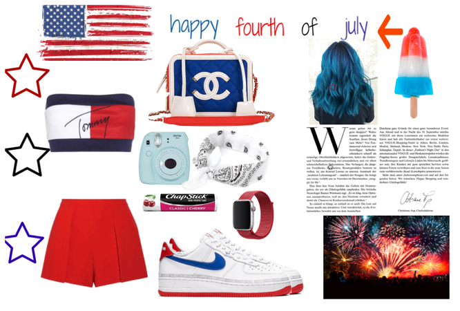 authentic fashion presents : fourth of july