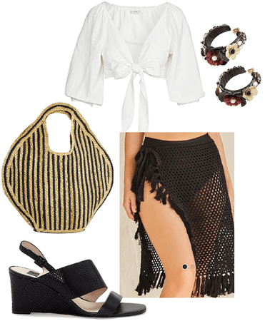 Summer Vibes - Black and White