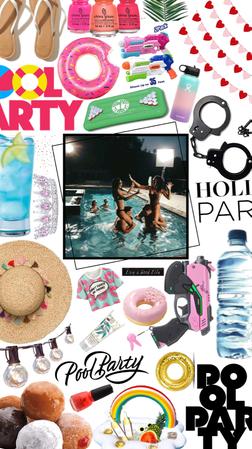pool partyyyyyyyyyyyy