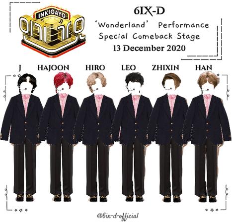 6IX-D [씩스띠] Inkigayo 201213