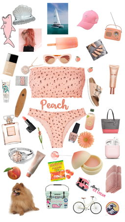 peachy at the beachy