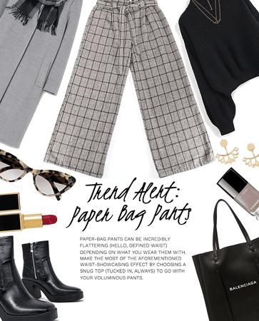 Trend Alert: Paper Bag Pants