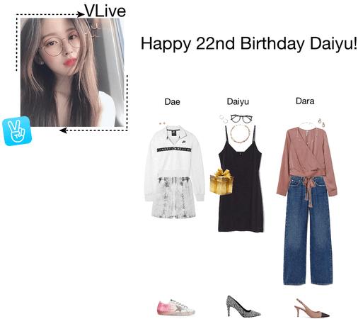 {3D} Happy Daiyu Day!