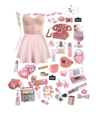 puking pink