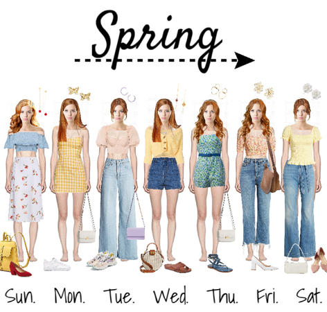 Weekly Spring Lookbook