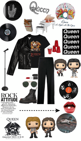 Queen inspired outfit