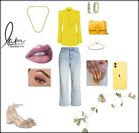 Yellow Look (based by Sofia Vergara)