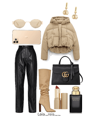Beige Classy Outfit