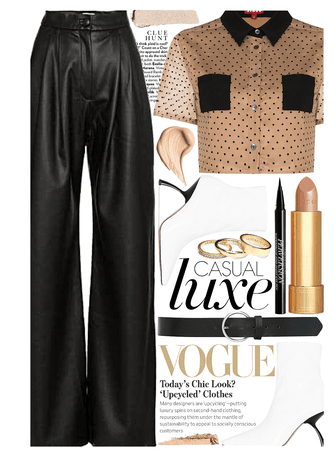 STREET STYLE: Leather Pants