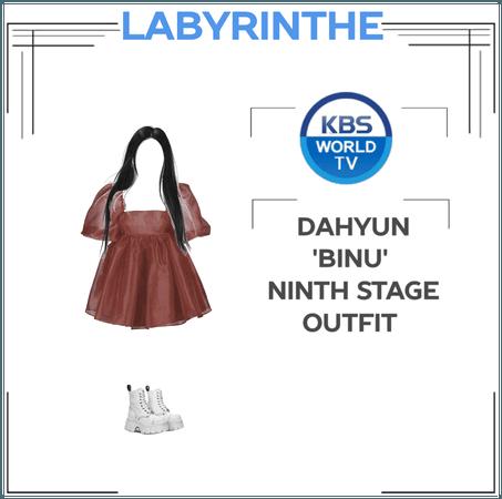 Dahyun 'binu' ninth stage