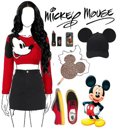 Mickey 🖤❤️
