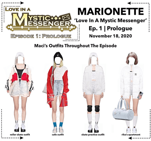 MARIONETTE (마리오네트) [SUNNY] 'Love In A Mystic Messenger' Ep. 1