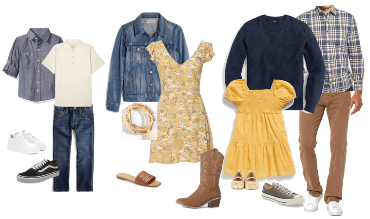 Spring Outfits for Family