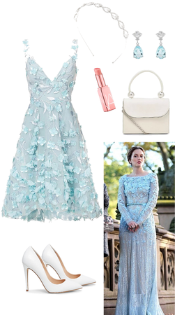 Blair Waldorf wedding outfit