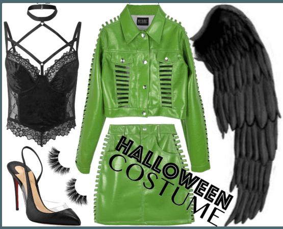 Dark angel halloween costume