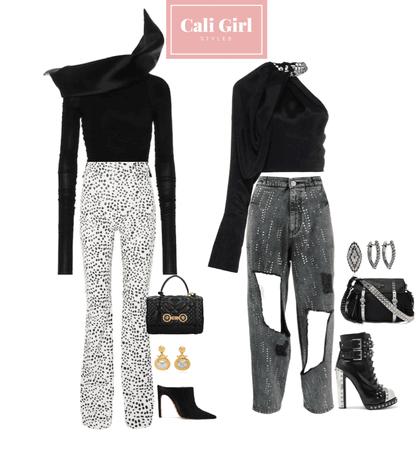 Black Fashion Look