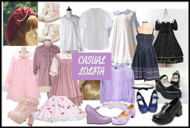 Let's Explore: Casual Lolita